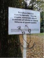 Sculpture filiforme supertemporelle